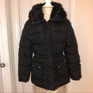 Gap Coat with faux fur collar